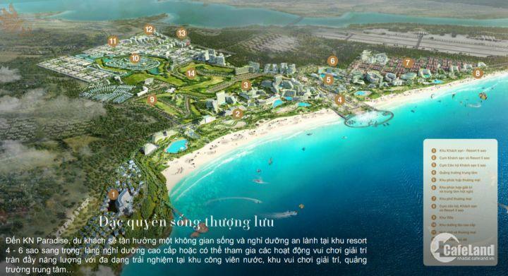 Hưng Thịnh mở bán biệt thự biển Para Draco 5 sao ngay Bãi Dài, Cam Ranh giá chỉ 13,1 tỷ.