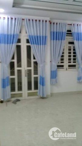 Bán nhà hẻm 2295 Huỳnh Tấn Phát, Thị trấn Nhà Bè, DT 4m x 15m, 3 lầu sân thượng, tặng nội thất