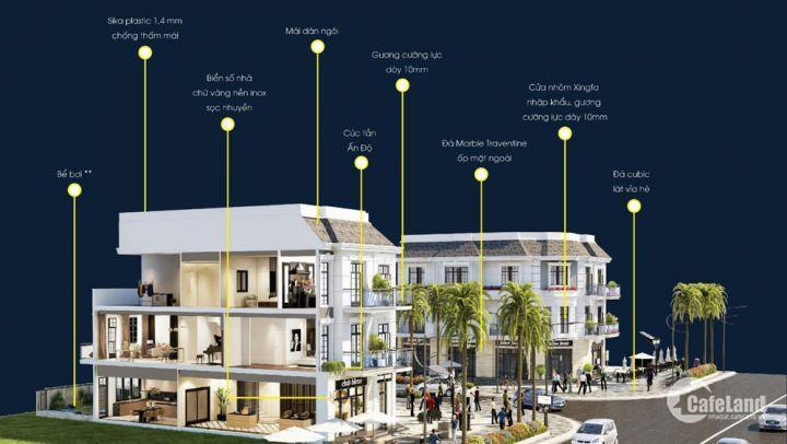 Bán nhanh căn nhà phố 3 tầng nằm trên trục đường huyết mạch 15m Liên Chiểu