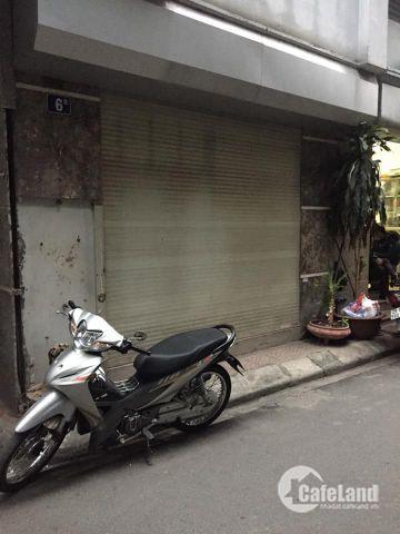 Bán nhà Long Biên phố Nguyễn Văn Cừ 5.5 tỷ, 25mx5t, oto đỗ