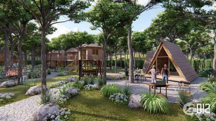Sở hữu đất nền khu nghỉ dưỡng đầy đủ hạ tầng sổ đỏ chỉ 5 triệu/m2 thu lãi vốn và dòng tiền cho thuê cực cao