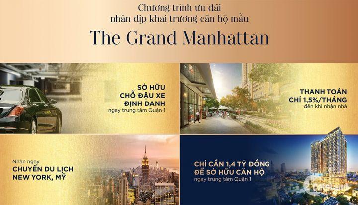 TẠI SAO NÊN CHỌN CĂN HỘ THE GRAND MANHATTAN?