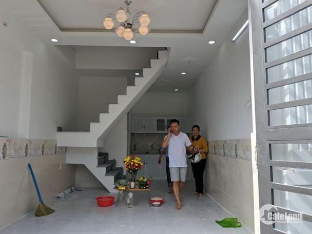 căn nhà tại Đường TL57,Phường Thạnh Lộc,Q12. Nhà xây 2 lầu 1 trệt