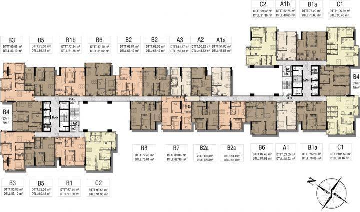 Cần sang nhượng gấp căn 2PN DT: 61m2 dự án ViVa Riverside quận 6 LH: 079 207 8066
