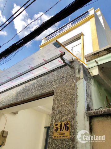 Tuyệt phẩm 2 lầu mới hoàn thiện 2019 đường Lê Văn Lương, P. TH, Quận 7.