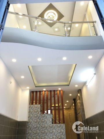 Bán nhà phố 2 lầu đường 12m khu dân cư Savimex, P. Phú Thuận, Q7.