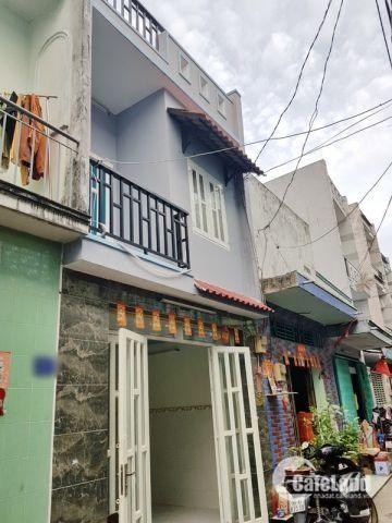 Bán nhà mới 1 lầu hẻm 16 Đường số 14A quận Bình Tân-4x10m-2.95 tỷ