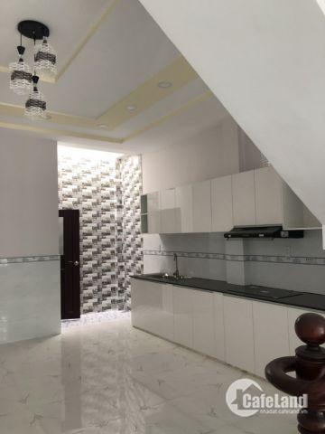 Bán nhà mới 1 lầu hẻm xe hơi 551 Hương Lộ 2 quận Bình Tân