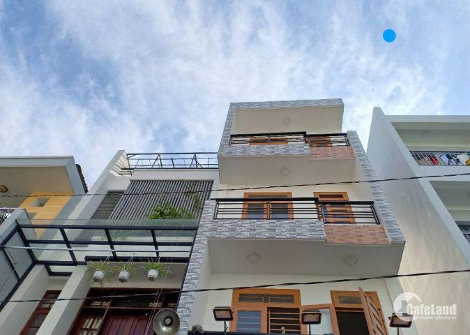 Bán nhà DT 5x13m CN 64m2 1trệt 3 lầu HXH 10m đường Phạm Văn Bạch, P12, Q.Gò Vấp 5tỷ 700triệu SHR