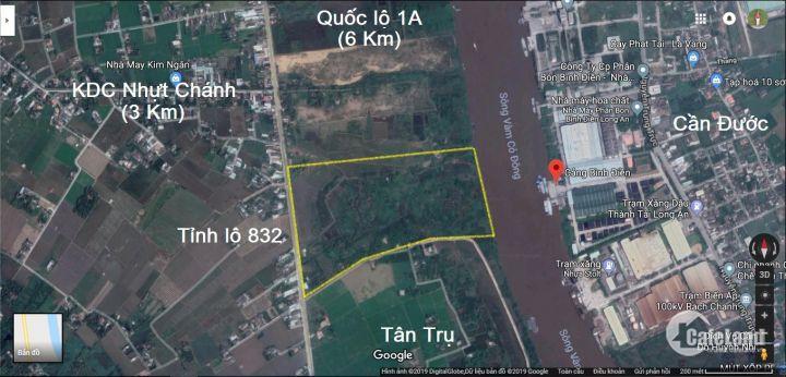 KDC Phố Chợ Vàm Cỏ Đông, giá chỉ 690tr/nền, TT linh hoạt, cách cầu Bến Lức 3km. LH: 0962.451.582