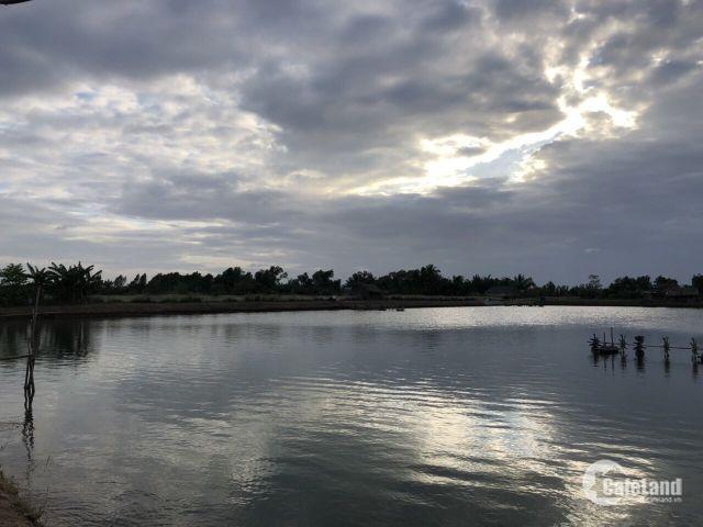 bán 24.5 công đất nuôi tôm, huyện Vĩnh Châu, Sóc Trăng
