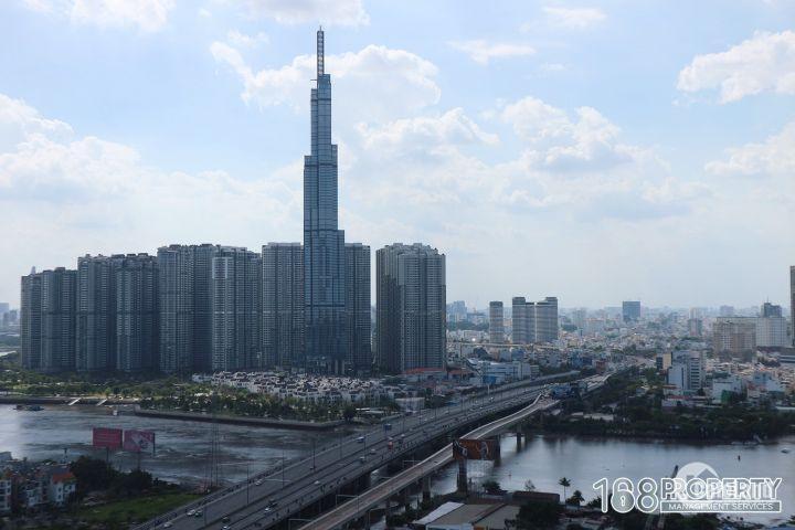 Cho thuê căn hộ Thảo Điền Pearl nội thất đẹp view Landmark81 và Sông Sài Gòn