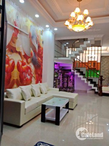 Bán nhà mới 3 lầu hẻm xe hơi Lý Phục Man P. Bình Thuận Quận 7. Giá 5.95 tỷ