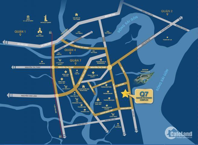 Khách ký gửi bán các căn hộ Q7 Saigon Riverside Block Urans giá tốt