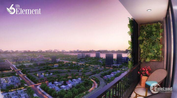 Bán chung cư 6th Element - Căn đẹp nhất 109m2 hướng Bắc, view Starlake. Giá rẻ hơn 600 triệu