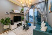 Cho thuê căn hộ sang trọng tại Vinhomes Central Park 20.5 triệu/tháng 2PN,2WC liên hệ: 0931467772
