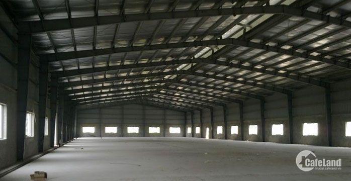Cho thuê gấp 3000m2 kho xưởng Khu vực Hưng Yên.