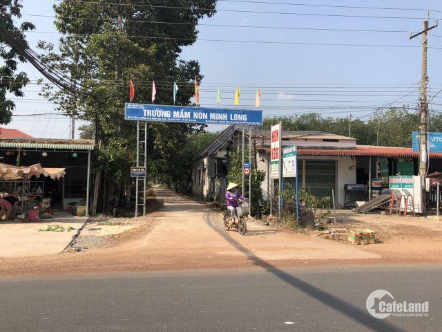 Bán đất khu dân cư Minh Long City chỉ 455tr/ 1000m2