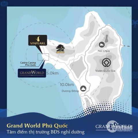 Shop Grand World Phú Quốc! Căn đẹp nhất thị trường, LH: 0902319858