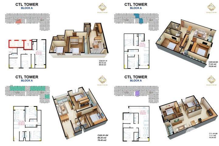 Cần bán gấp căn hộ CTL TOWER suất nội bộ nhượng lại