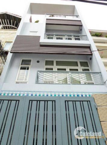 Cần bán nhà mặt tiền Đặng Nguyên Cẩn P13,Q6,DT:4 x 18m,3 lầu củ,Giá chỉ 14.5 tỷ,LH:0907891888.