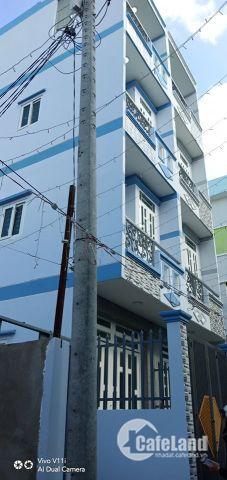 Bán nhà Chợ Bà Hom, Mới xây 1 trệt 3 lầu, đường Hồ Văn Long