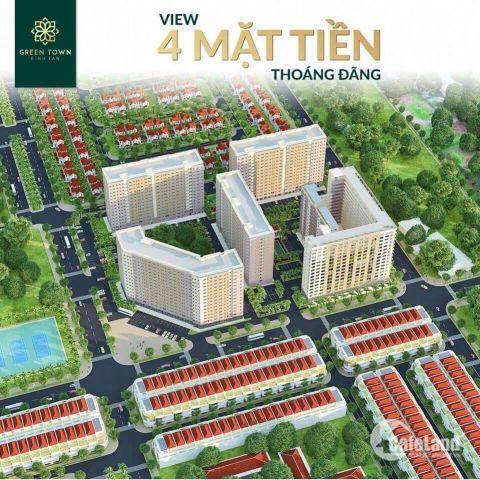 Dễ dàng sở hữu ngay căn hộ Green Town Bình Tân, Mặt tiền đường 30m