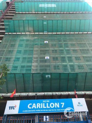 Carillon 7 - 1pn/1,6 tỷ, 2pn 71m2/2,1 tỷ, 3pn 85m2/2,37 tỷ TT dài hạn MP 2 căn PQL 093242423