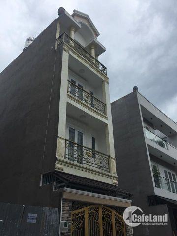 Bán Nhà 4x13.5m.3 Lầu.Hẻm 8m Tô Hiệu.P Hiệp Tân.Q Tân Phú