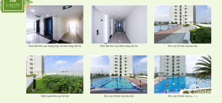 Căn hộ Lavita Garden 68m2 2PN giá chỉ 28tr/m2, Mới 100% bao gồm Full căn, ở liền