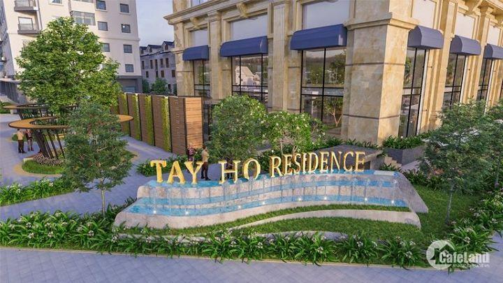 Chung cư cao cấp [Tây Hồ Residence] giá 45.5tr/m2/73.2m/2pn/vat/full nội thất, view trọn Hồ Tây