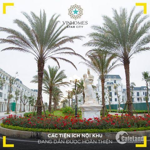 Còn 1 căn shophouse duy nhất 6.8 tỷ, Phố đi bộ Nguyệt Quế - Vinhomes star City - Thanh Hóa