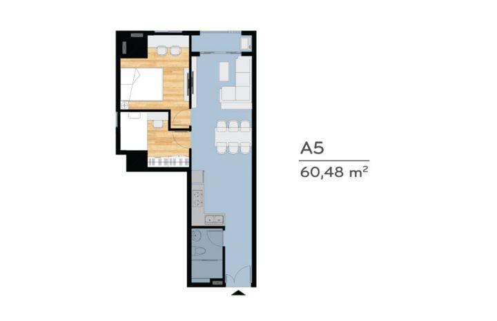 Mua nhà Vũng Tàu ở liền, giá 2.3 tỷ, 78 m2, 2PN,2WC, view hồ