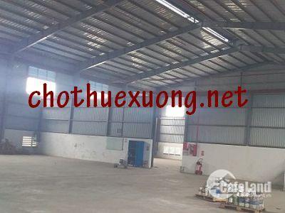Cho thuê xưởng giá rẻ tại Quán Gỏi Bình Giang Hải Dương DT 2200m2