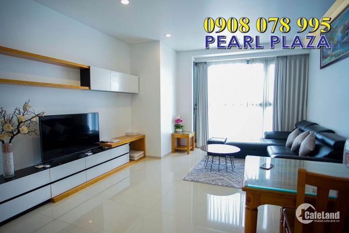 PEARL PLAZA quận Bình Thạnh_Cho Thuê Ch 1PN, Đủ Nội Thất, View Landmark 81 Cực Đẹp. Hotline PKD SSG 0908 078 995