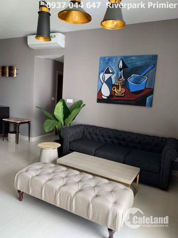 Cho thuê căn hộ riverpark primier full nội thất view đẹp thoáng mát 58.500.000 đ