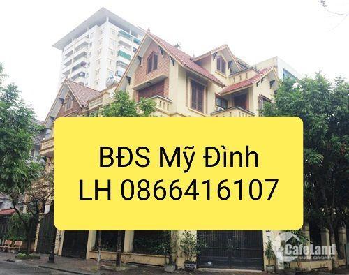 Cho thuê biệt thư đẹp nhất Mỹ Đình 2, diện tích 200m, phố Cao Xuân Huy, giá 35 tr/th. LH 0866416107