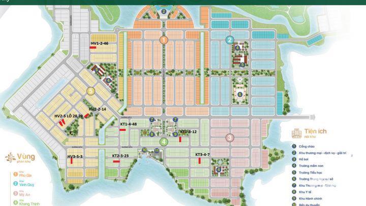 Bán Đợt 2 dự án Biên Hòa Newcity giá dãy đường trục chính 24 m khu HV - PG