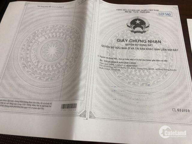 Dự án Đất Nền Bình Chánh KĐT Sinh Thái An Hạ Lotus-Bình Chánh, giá chỉ 17tr/m2