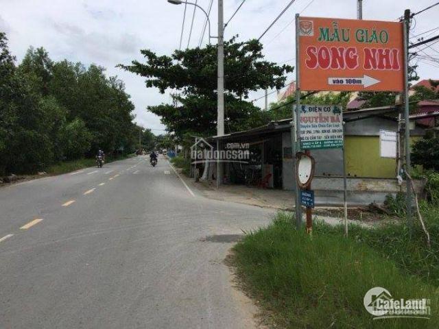 Chính chủ bán lô đất mặt tiền đường An Hạ, 19tr/m2 sang tên công chứng ngay.
