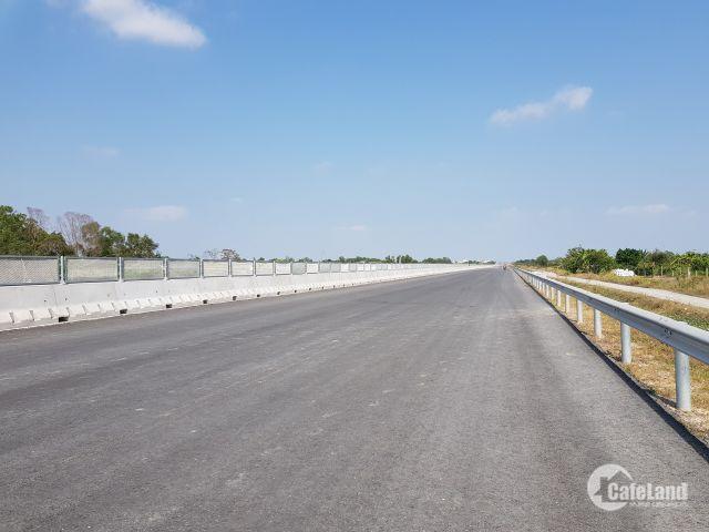 Bán 1850m2 đất gần mặt tiền đường cao tốc Song Hành - Long Thành - Bến Lức, Bình Chánh, giá 5 tr/m2. LH: 0976711289