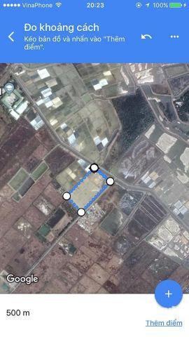 ! Cần Giờ ! Lý Nhơn ! Vườn + Thổ Cư ! 700k 1 mét