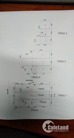 Xuất ngoại bán gấp 2 lô đất liền kề đường MTNB đường 2 xe hơi quay đầu Lê Văn Sỹ, P.1, Quận Tân Bình