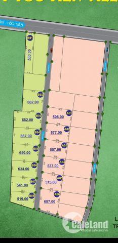 Cần bán đất trung tâm thành phố cảng Cái Mép - Phú Mỹ LH: 0906861639
