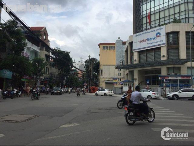 Bán nhà mặt phố Nguyễn Thái Học, Đống Đa 120m2, 4 tầng, giá 27 tỷ, vị trí đắc địa