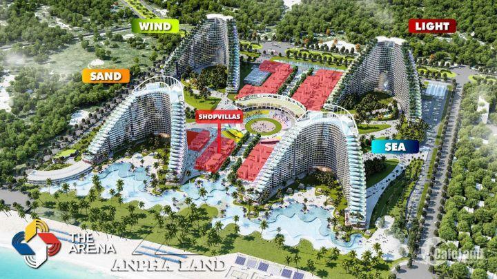 Chính chủ cần bán căn hộ dự án The Arena Cam Ranh, view biển, giá rẻ