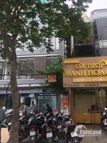 Bán nhà măt Phố Huế Hai Bà Trưng sổ đỏ 125m2 vuông vắn mặt tiền rộng 5,3m 0948236663