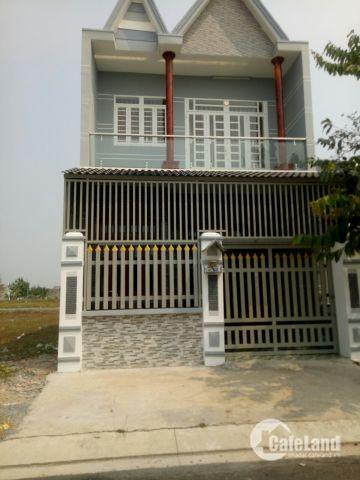 Nhà mới xây KĐT mới Bình Chánh DT 80m2 1 trệt 1 lầu chỉ 1,4 tỷ bao sang tên