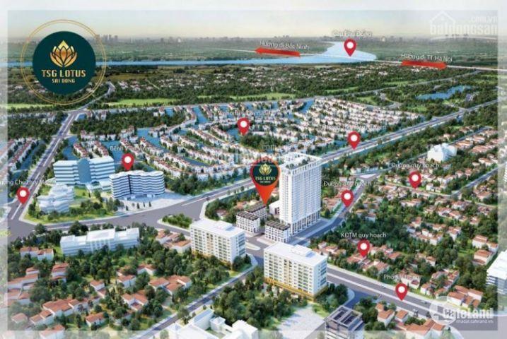 Dự án TSG Lotus Sài Đồng, Long Biên, CC cao cấp giá rẻ bất ngờ, CK 1,5% cho 05 KH đầu tiên