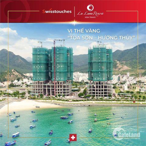 Căn hộ 5 Sao mặt biển Nha Trang - Cam kết lợi nhuận tối thiểu 9%/năm trong 5 năm. Cam kết mua lại tăng giá 20%